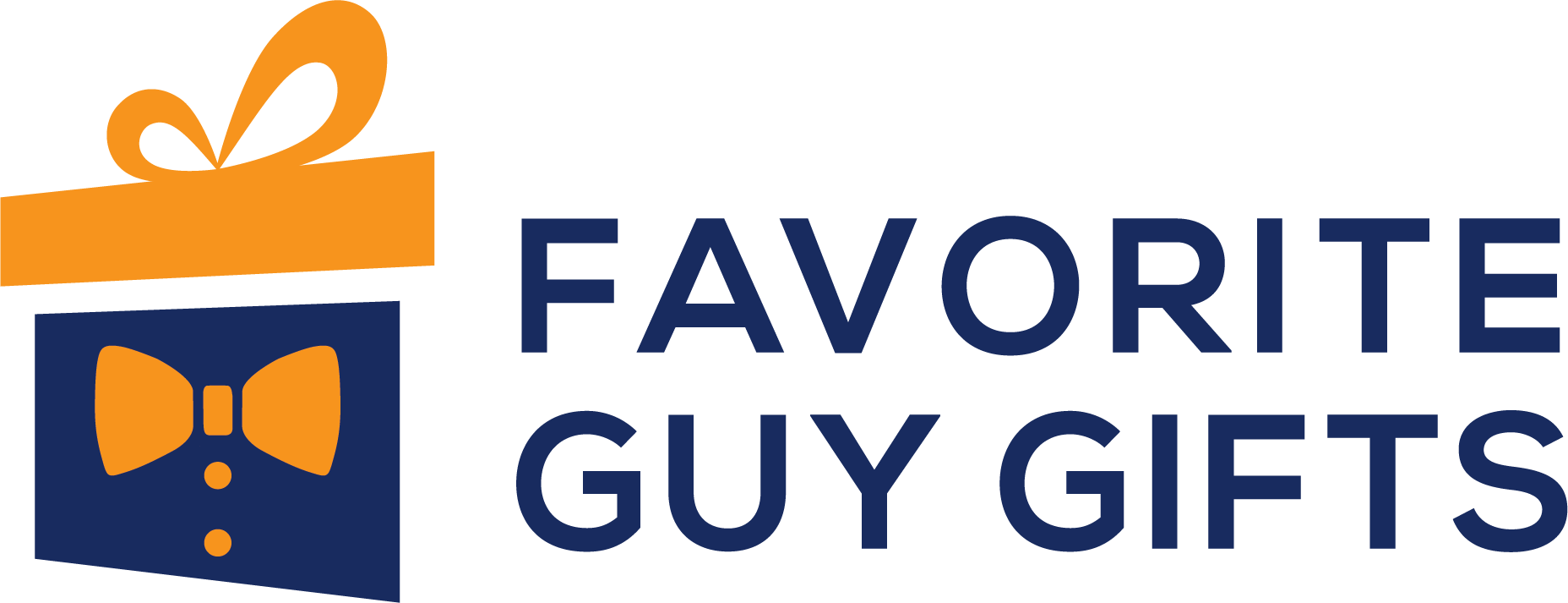 Favorite Guy Gifts Full Color Horizontal Logo Clear Background - Find Gifts For Men