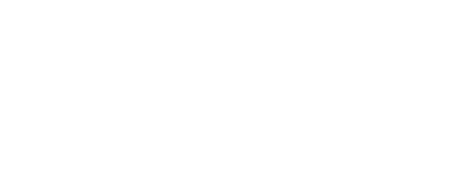 Favorite Guy Gifts One Color Horizontal Logo White on Clear Background - Find Gifts For Men