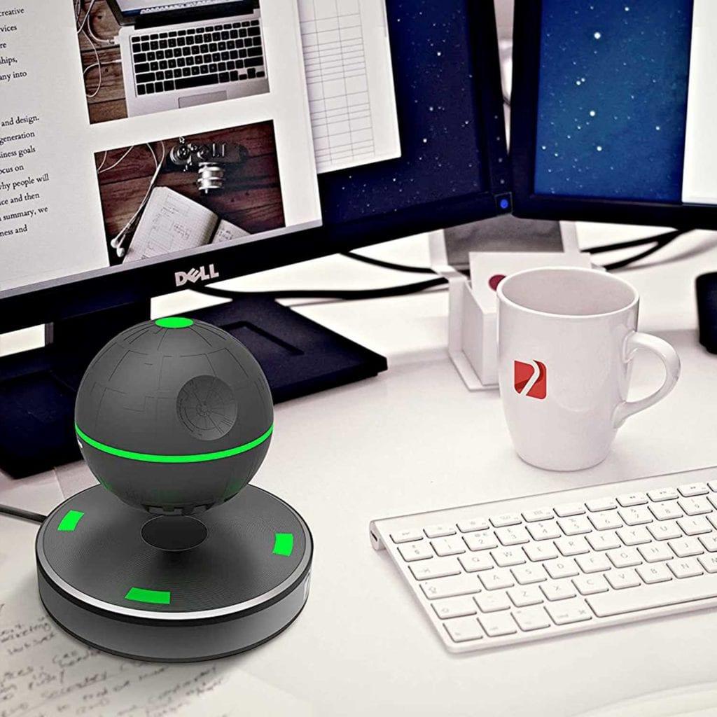 Floating Bluetooth Speaker - Creative Gadgets For Boyfriend - On Desk