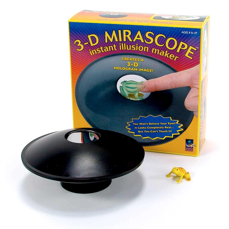 Toysmith 3D Mirascope Hologram Generator Kit – Novelty Gadget For Men