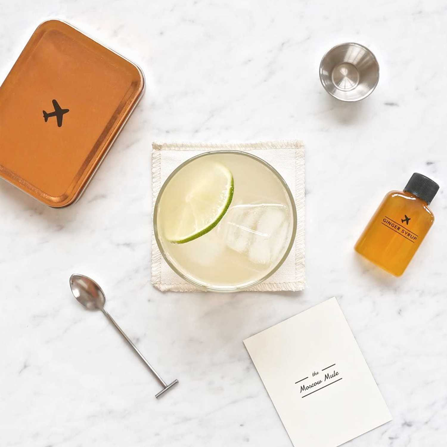 Carry On All-in-One Portable Craft Cocktail Kit Drink - Perfect Birthday Gift For Boss