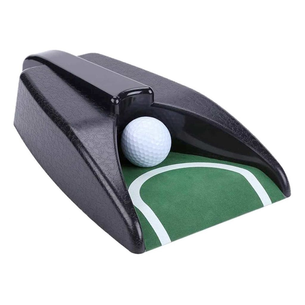 Golf Practice Putting Cup With Automatic Piston Return Main Image - Fathers Day Gifts For Dad Who Wants Nothing
