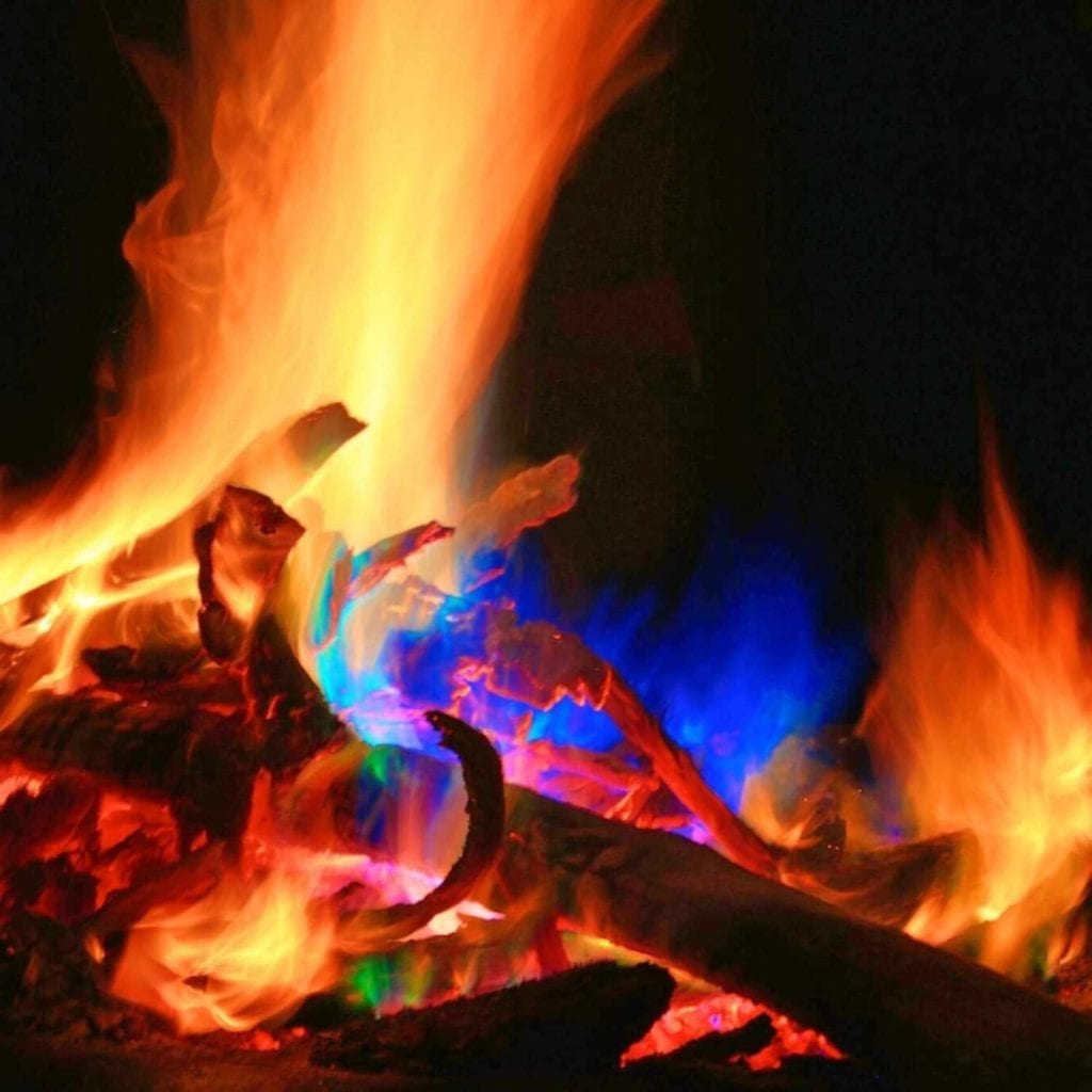 Magical Flames Vibrant Fire Color Changing Packets Flames - Cool Birthday Gifts For Guys
