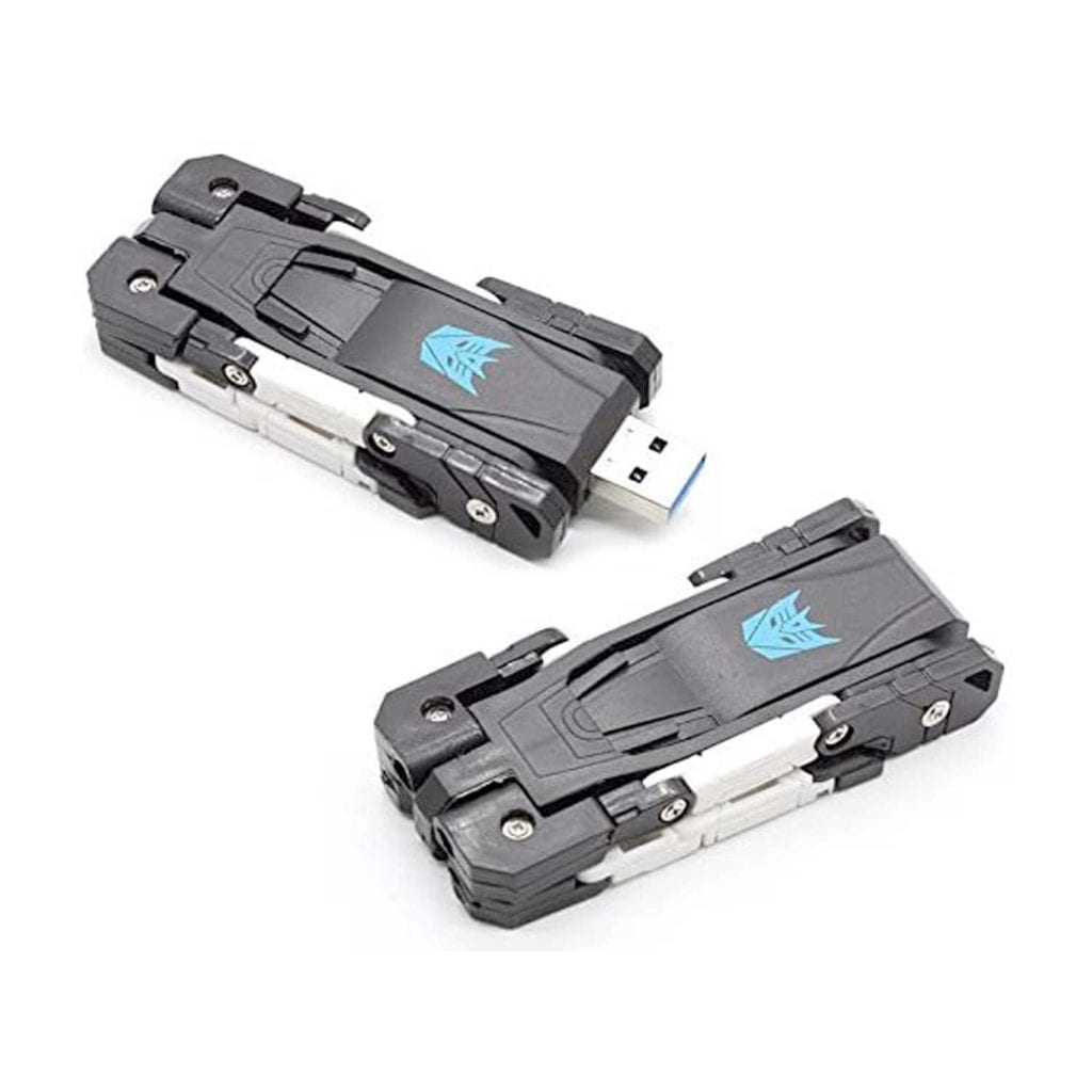 Transformer Jaguar USB Flash Memory Drive Closed – Unique Gift For Boss
