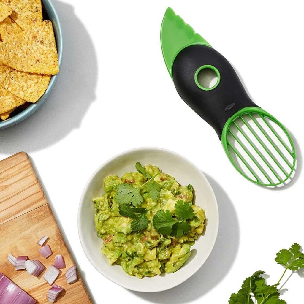 3-in-1 Avocado Slicer Pitter and Scooper Guacamole - Creative Gadgets For Boyfriend