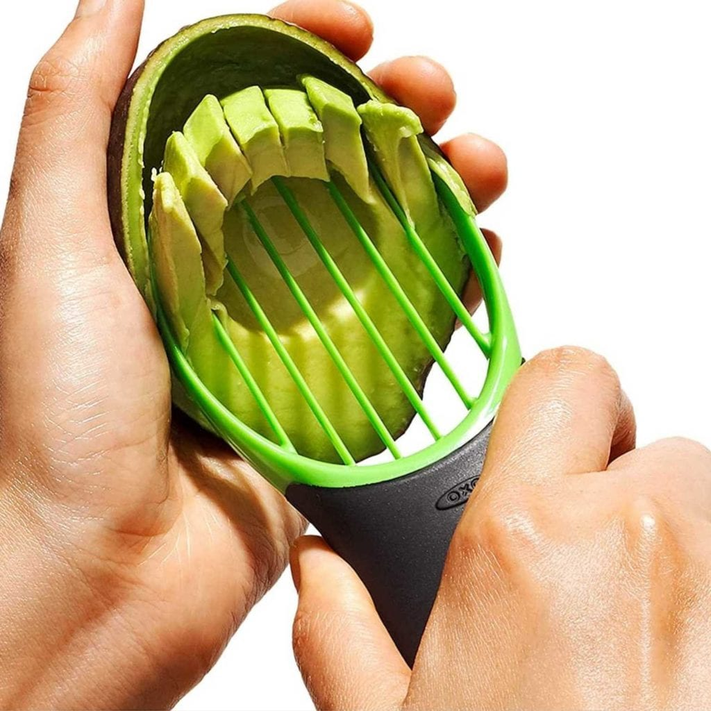 3-in-1 Avocado Slicer Pitter and Scooper Scooping - Creative Gadgets For Boyfriend