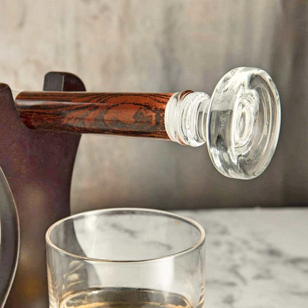 Baseball Bat Whiskey Decanter and Glass Set Handle - Cool Birthday Gifts For Guys