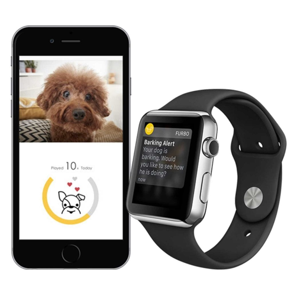 HD WiFi 2-Way Audio Interactive Dog Camera Alert - Cool Birthday Gifts For Pet Lovers