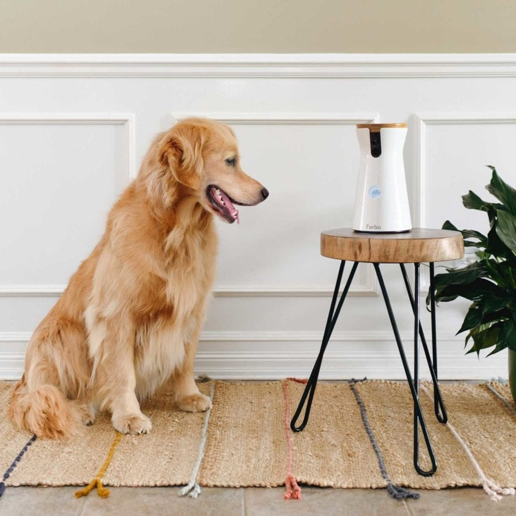 HD WiFi 2-Way Audio Interactive Dog Camera Retriever - Cool Birthday Gifts For Pet Lovers