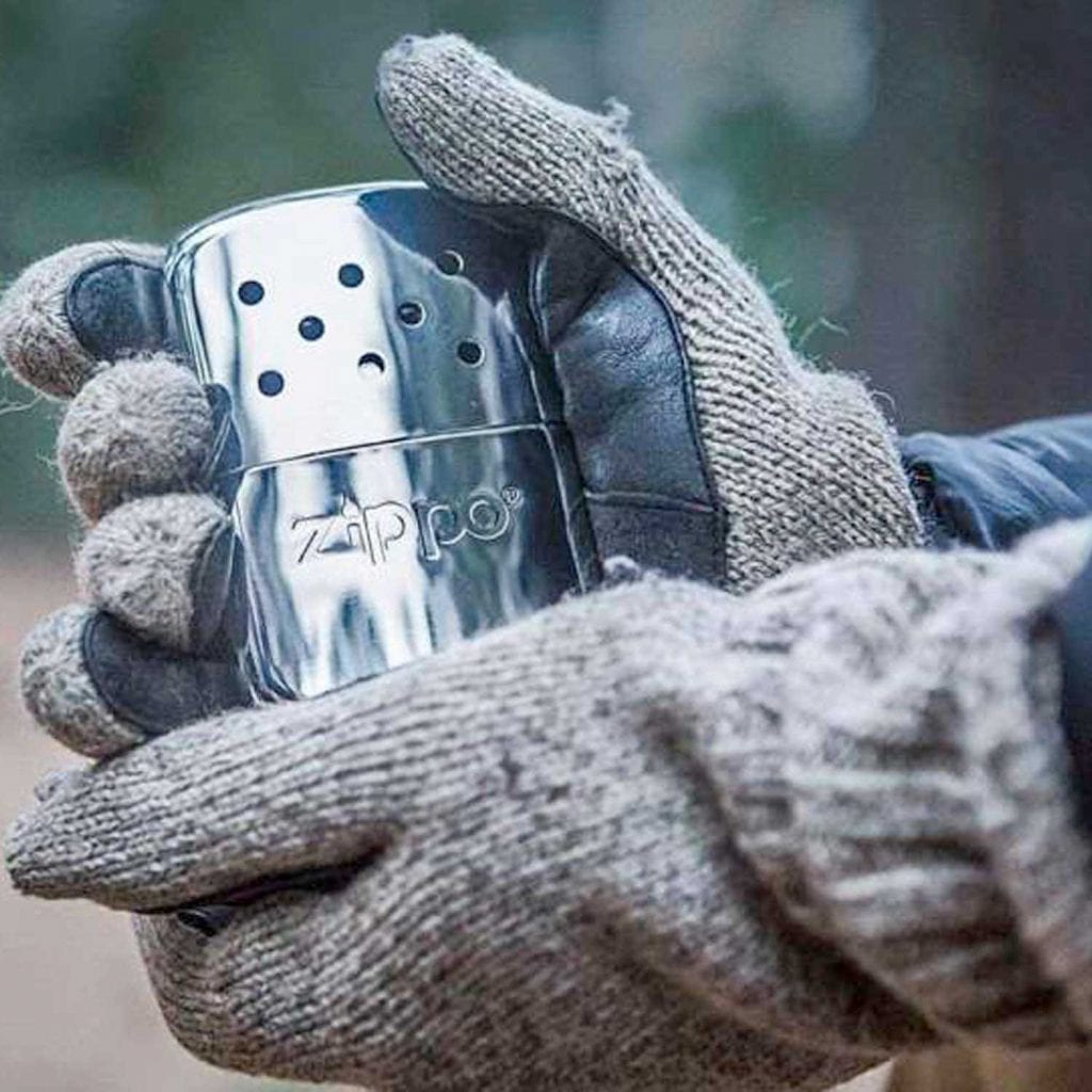 Zippo Flameless 12-Hour Refillable Hand Warmer Gloves - Best Christmas Gifts For Dad